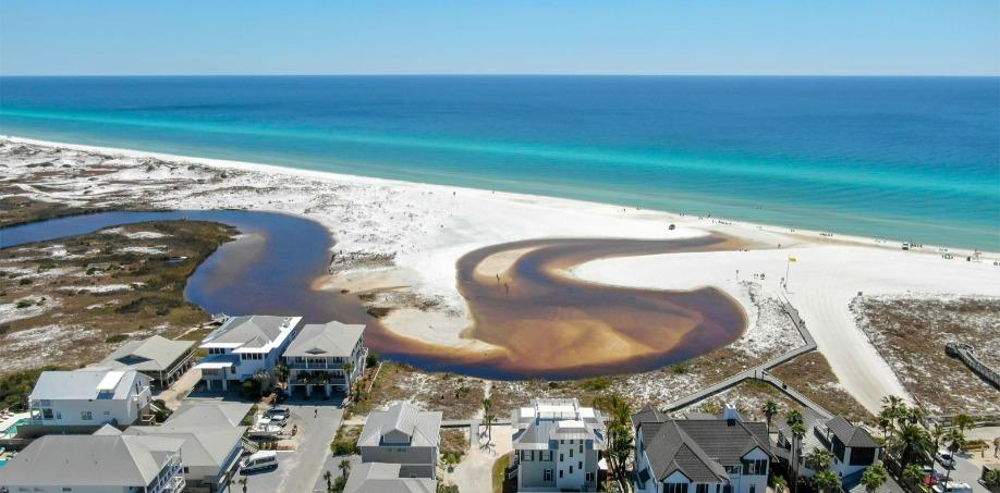 30A Western Lake Outflow happens at Grayton Beach