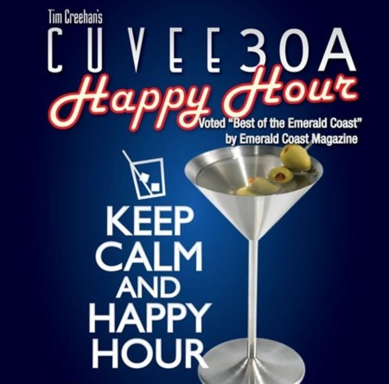 Cuvee 30A Happy Hour