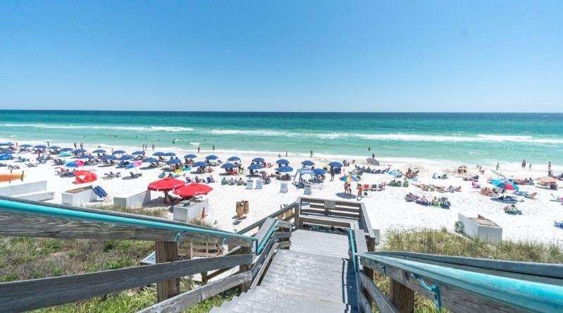 Access to the Gulf of Mexico for Seacrest Beach vacation goers