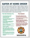 South Walton Fire District Safer At Home Order Graphic