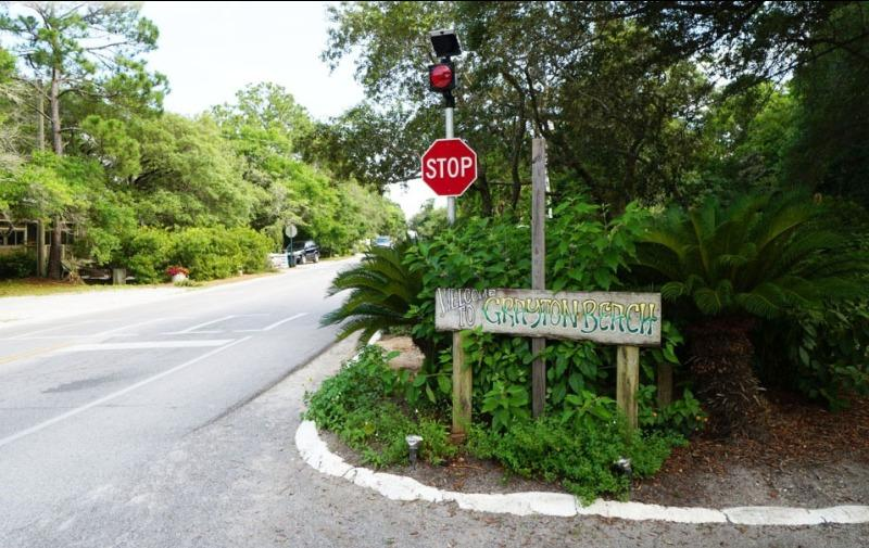 Grayton Beach Welcome Sign